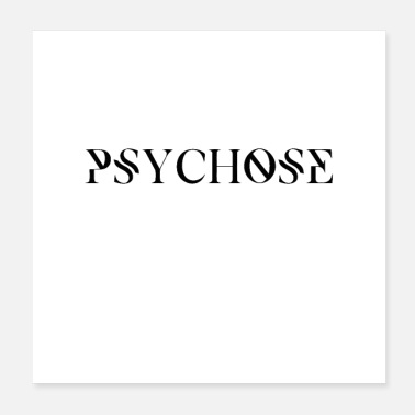 Trance PSYCHOSIS - Poster 20x20 cm