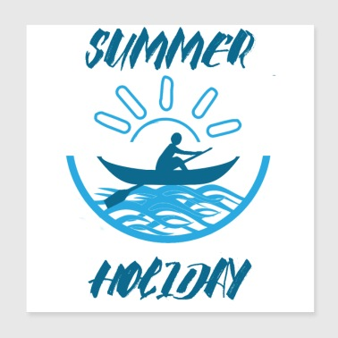 Summer Holiday - Poster 20x20 cm