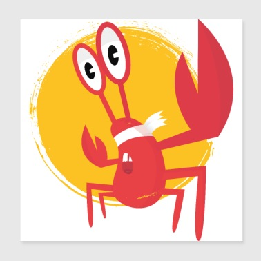 lobster - Poster 20 x 20 cm