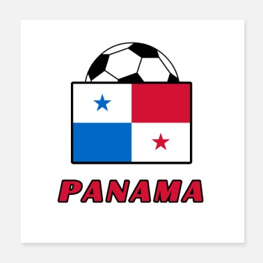 National PANAMA national team design - Poster