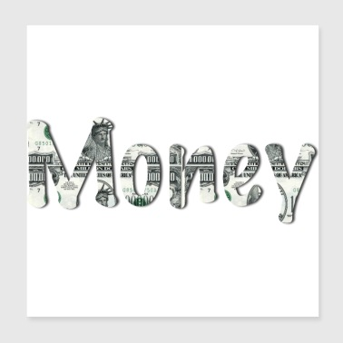 Money - Poster 20x20 cm