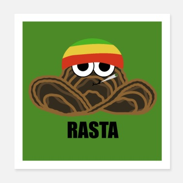 Spreadfun Rasta - With oregano - Poster