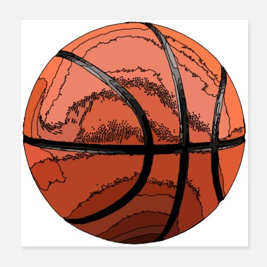 Basketball Bundesliga basketball - Poster