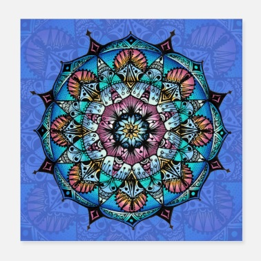 Change SoulArt Mandala Mandala of Change - Juliste 20 x 20 cm