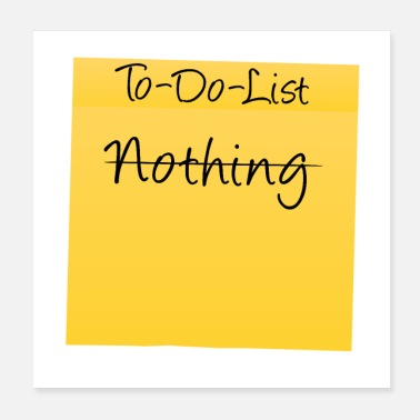 shop todo list posters online spreadshirt