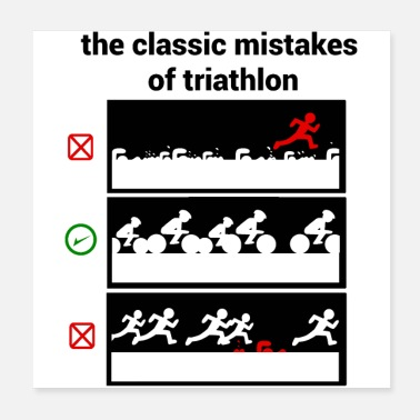 Error Triatlón - Errores - Poster