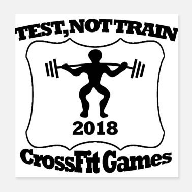 Cross Fit ei ole junaa - Juliste