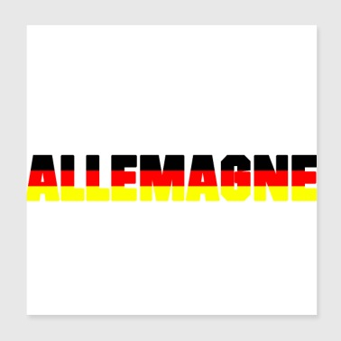 GERMANIA - Poster 20x20 cm