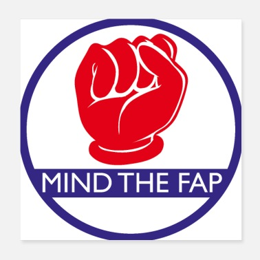 Mindfulness Mind the fap - Poster