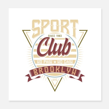 Motorsport Sport Club Brooklyn Motorsport Design - Poster
