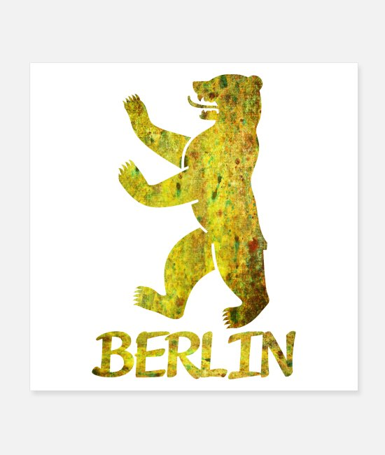 Spandau Posters - Bear of Berlin - Posters white