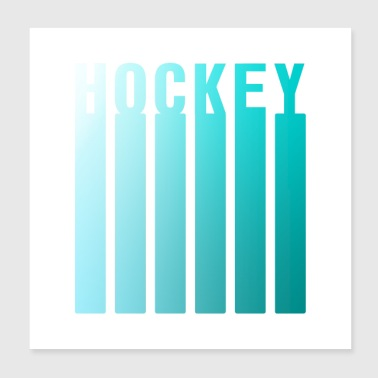 HOCKEY DESIGN X - Juliste 20 x 20 cm