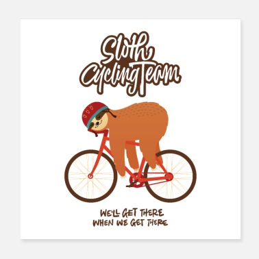 Mode Sloth Cycling Team - Poster