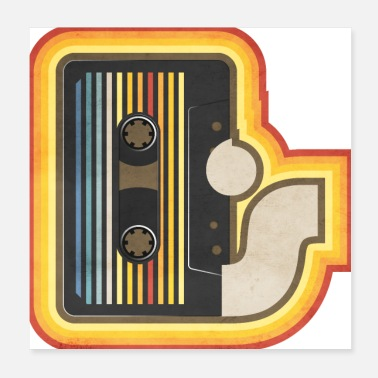 Analogue 70's cassette - Poster