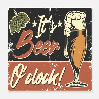 Vintage Collection BEER TIME - Poster