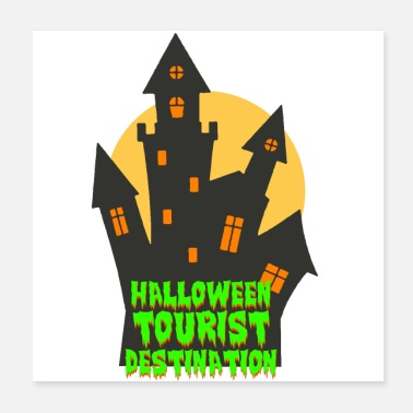 Tourist Halloween Tourist - Poster