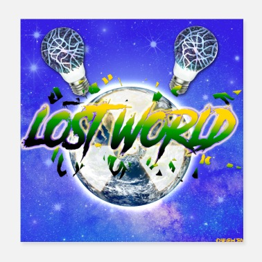 Photoshop Lost World - Poster