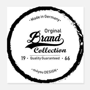 Collections Brand Collection - Poster 20x20 cm