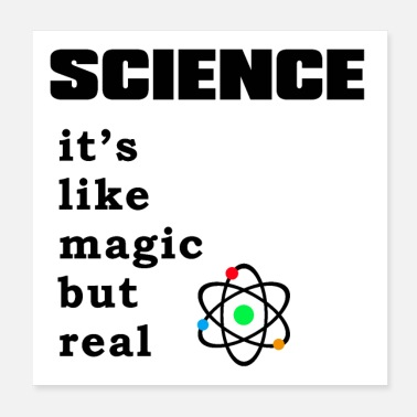 science magic 4e3cea10 d75b 11e8 8f20 374b2514c051 - Poster 20x20 cm