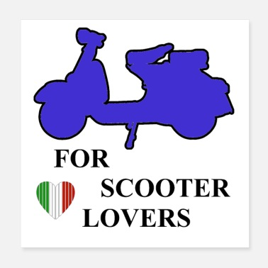 Scooter Scooter lovers - Poster