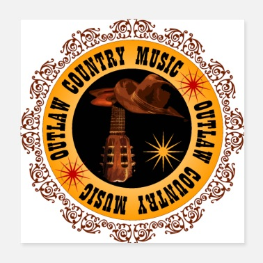 Country Music - Poster