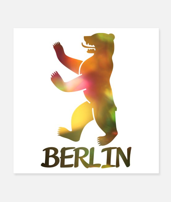 Spree Posters - Bear of Berlin - Posters white