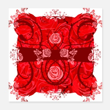 Vector gxp roses need thorns vector art - Poster