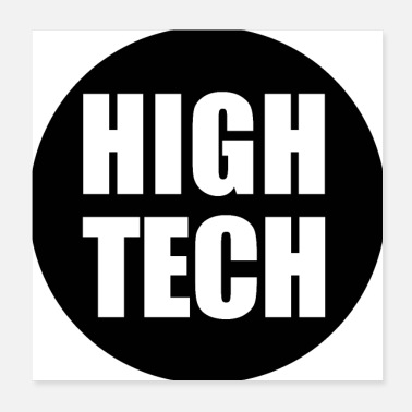 Tech High Tech logo - Poster