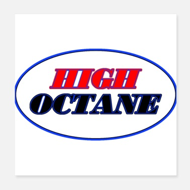 Brake high octane - Poster
