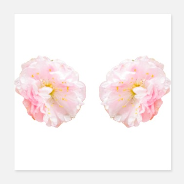 Blume The two sweeties - Poster 20x20 cm
