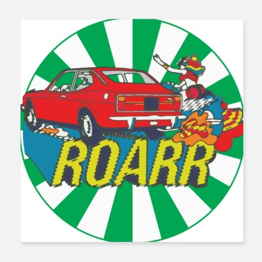 Old Car 128 coupe roarr - Poster
