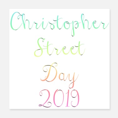 Christopher CSD 2019 * Christopher Street Day - Poster