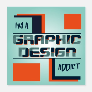 Graphic Pirates I'm a graphic design addict - Poster