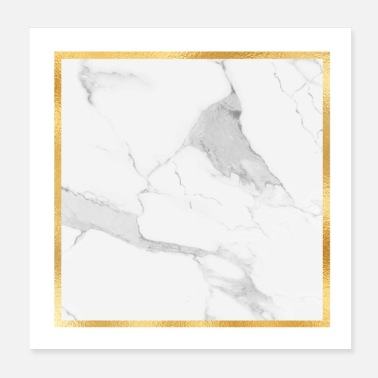 Marmor MARMOR & GOLD - Poster