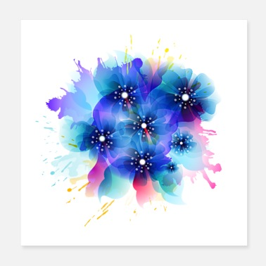 Magic Magic Flower - Poster