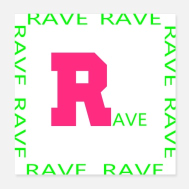 Rave rave 1 - Poster
