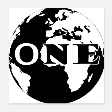 One ONE WORLD - Poster