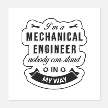 Mechanical Mechanical engineer - Poster