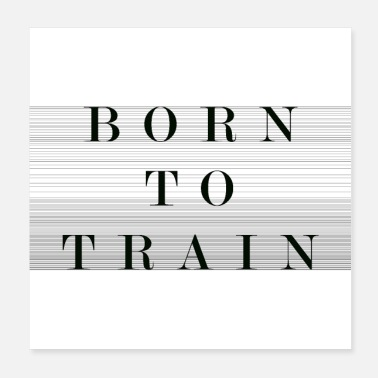 Survivor Born to train - Poster