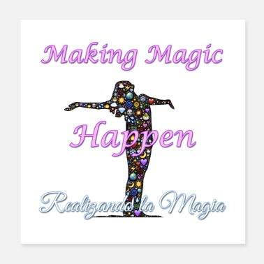 Spanish Spanish Teacher Gift - Making Magic Happen - Poster