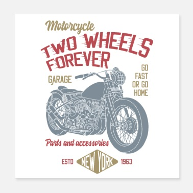 Two TWO WHEELS - Poster