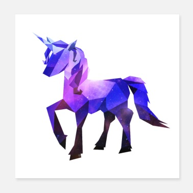 Mythical Beast unicorn - Poster