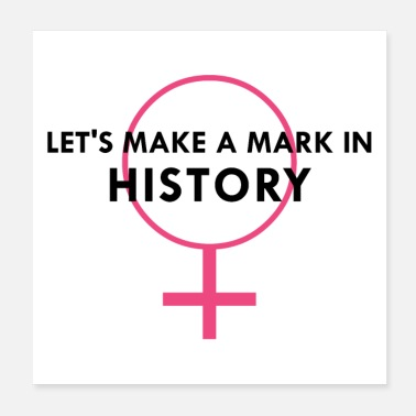Revolutionary MIAA Strong Women Gifts - Let's Make a Mark in - Poster