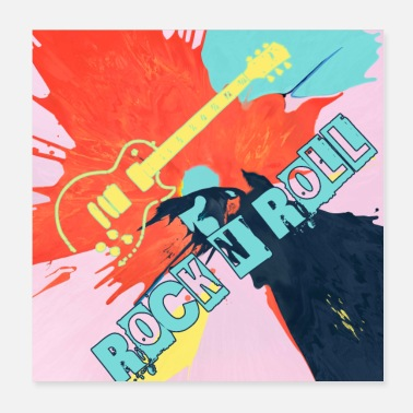 Rock 'n' Roll Rock and roll - Poster