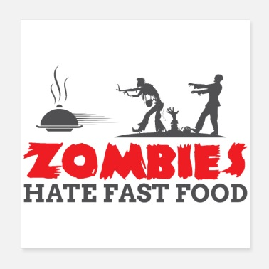 Apocalipsis Zombies tienen FASTFOOD - Poster