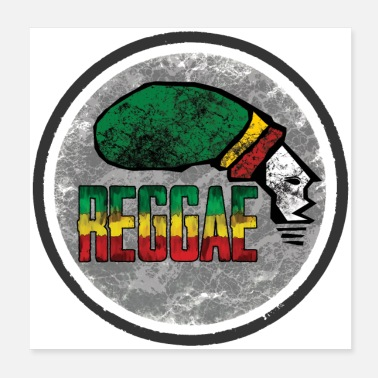 Jamaica reggae is the love - Poster
