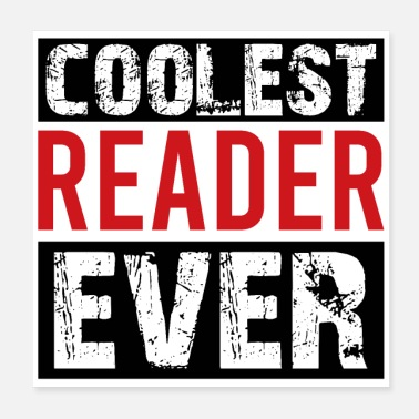 Reader Coolest Reader Ever, coolest reader book thriller - Poster