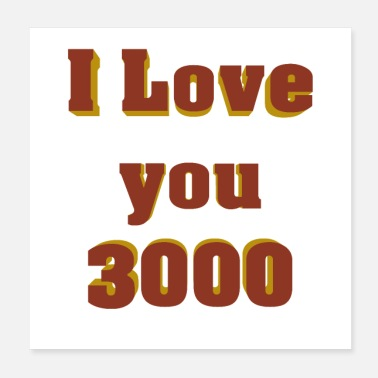 Daughter I love you 3000 - Poster