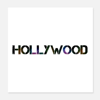 Hollywood HOLLYWOOD - NICE STYLE - Poster