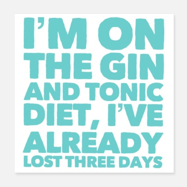 Gin The Gin and Tonic Diet - Poster
